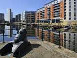 Cannon From the Royal Armouries  Clarence Dock  Leeds  West Yorkshire  England  Uk