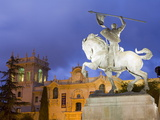 El Cid Statue and House of Hospitality in Balboa Park  San Diego  California