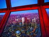 View of Downtown Toronto Skyline Taken From Cn Tower  Toronto  Ontario  Canada  North America