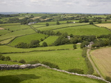 Farm Beside Carreg Cennon Castle  Brecon Beacons National Park  Wales  United Kingdom  Europe