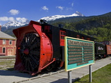 Snow Plow  White Pass and Yukon Route Railroad  Skagway  Southeast Alaska  USA
