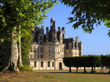 South Facade  Chateau De Chambord  Chambord  Loir Et Cher  Loire Valley  France