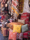 Goods in the Souks in the Medina  Marrakech  Morocco  North Africa  Africa