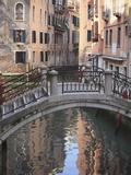 A Quiet Canal  Venice  UNESCO World Heritage Site  Veneto  Italy  Europe