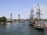 Tall Ships  Portsmouth  New Hampshire  New England  United States of America  North America