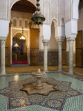 Mausoleum of Moulay Ismail  Meknes  UNESCO World Heritage Site  Morocco  North Africa  Africa