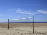 Volleyball Net  Santa Monica  Los Angeles  California  United States of America  North America