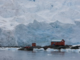 Glacier  Argentine Research Station  Paradise Bay  Antarctic Peninsula  Antarctica  Polar Regions
