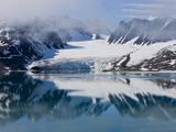 Glacier  Spitzbergen  Svalbard  Norway  Arctic  Scandinavia  Europe