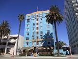 Art Deco  Georgian Hotel  Ocean Avenue  Santa Monica  California