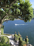 View From Villa Balbianello  Lenno  Lake Como  Lombardy  Italy  Europe