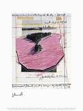 Surrounded Islands, Miami I Reproduction pour collectionneurs par Christo