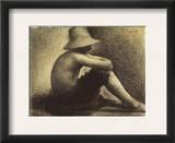 Seurat: Seated Boy  1883-4