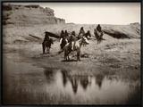 Navajo On Horseback  C1904