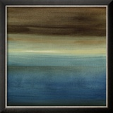 Abstract Horizon III Reproduction encadrée par Ethan Harper