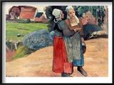 Gauguin: Breton Women  1894