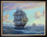 Empress of the Seas, Impératrice des mers Reproduction giclée encadrée par Roy Cross
