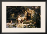 Hylas and the Water Nymphs