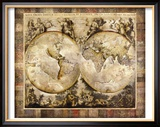 Ancien Monde Reproduction giclée encadrée par Edwin Douglas