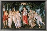 Primavera Reproduction encadrée par Sandro Botticelli