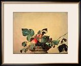 Basket with Fruit  circa 1596