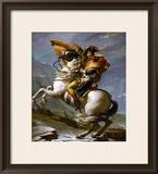Bonaparte Crossing the Great Saint Bernard Pass  1801