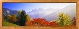 Dolomites Alps, Italy Photo encadrée par Panoramic Images
