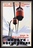 Skiing and Tram