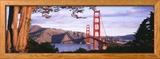 Golden Gate Bridge, San Francisco, California, USA Photo encadrée
