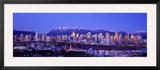 Twilight  Vancouver Skyline  British Columbia  Canada