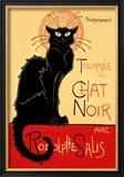Tournée du Chat Noir avec Rodolphe Salis, 1896 Reproduction encadrée par Théophile Alexandre Steinlen