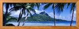 Bora Bora, Tahiti, Polynesia Photo encadrée par Panoramic Images