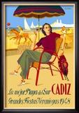 Cadiz, La Mejor Playa del Sur Reproduction encadrée