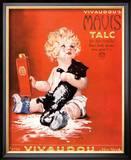 Mavis Talc Cats Talcum Powder  USA  1920