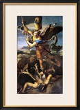 St Michael Overwhelming the Demon  1518