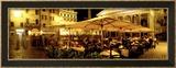 Cafe, Pantheon, Rome Italy Photo encadrée par Panoramic Images