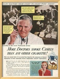 Camels  Cigarettes Smoking Medical  USA  1946