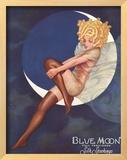 Blue Moon Silk stockings  Womens Glamour Pin-Ups Nylons Hosiery  USA  1920