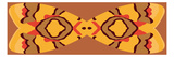 Tiki Bow Tie