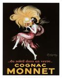 Cognac Monnet Reproduction d'art par Leonetto Cappiello