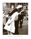 Kissing the War Goodbye (Times Square  New York City   c1945)