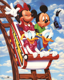 Mickey Mouse and Friends Rollercoaster