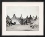 Sioux Encampment  1891