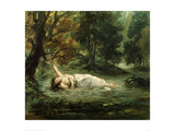 Death of Ophelia  1859