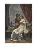 Romeo and Juliet  c 1895 (woodcut)