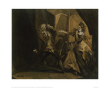 Garrick and Mrs Pritchard as MacBeth and Lady MacBeth after the Murder of King Duncan