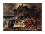 Landscape with MacBeth and the Witches  1829