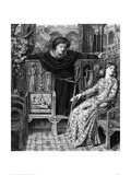 Hamlet and Ophelia  c 1858