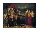 MacBeth and the Three Witches  1855