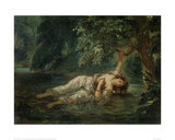 The Death of Ophelia  1844